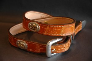 The Ultimate LSU Concho Belt